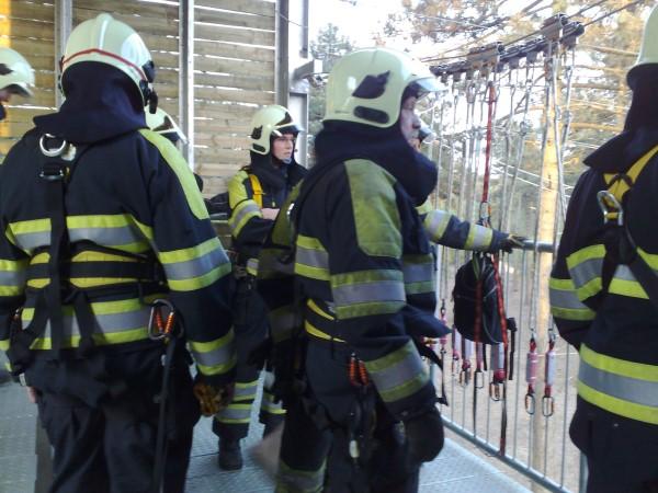brandweer training